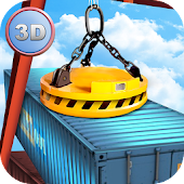 Dock Tower Crane Simulator 3D