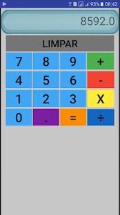Calculadora GiDroid - náhled