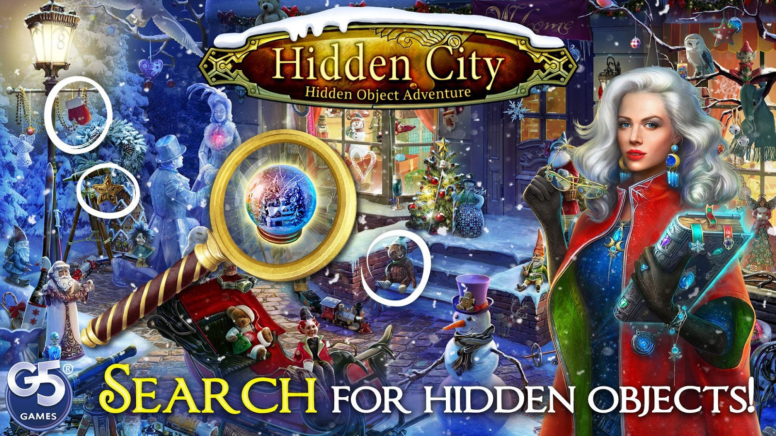 how to play hidden city game
