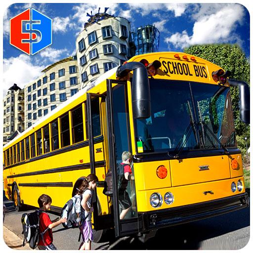 City School Bus Drive 3D game (apk) free download for Android/PC/Windows