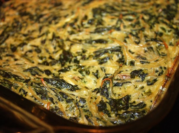 Spinach Kugel Recipe