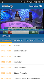 BloombergHT Live- screenshot thumbnail