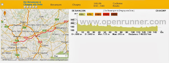 Photo: De Besançon à Chagny, via Dole