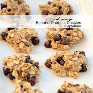 Banana Oatmeal No Flour Cookies Recipes.