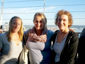 Photo: Kaitlin, Alison, and Kathleen at the Space Needle