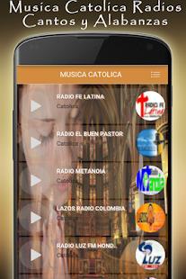 Musica Catolica Radios:Cantos y Alabanza Catolicas - náhled