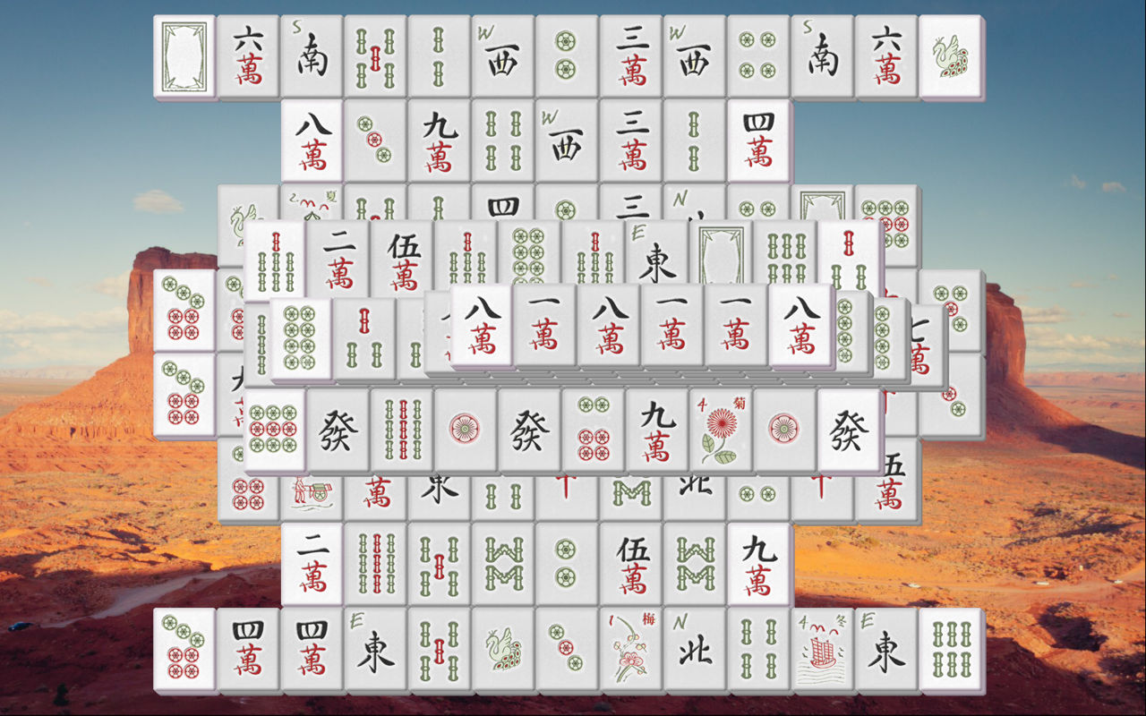 Mahjong Solitaire: Travels- screenshot
