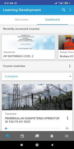 E-Learning screenshot 2