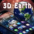 Space Planet 3D Earth Theme apk
