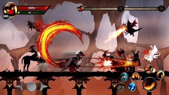 Stickman Legends: Shadow War Offline Fighting Game Screenshot