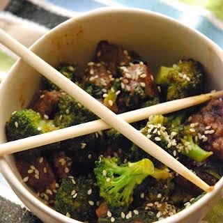 Venison, Broccoli, & Spinach Stir Fry.