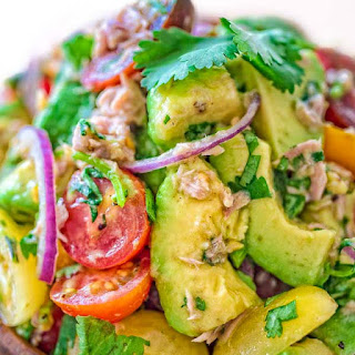 Avocado Tuna Salad.