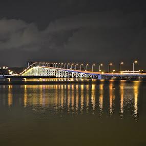 by Alvin Cheah - Buildings & Architecture Bridges & Suspended Structures ( pwcbridges, pwcreflections-dq )