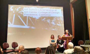 Photo: Simone Fujita - Librarian, Art Center College of Design Library