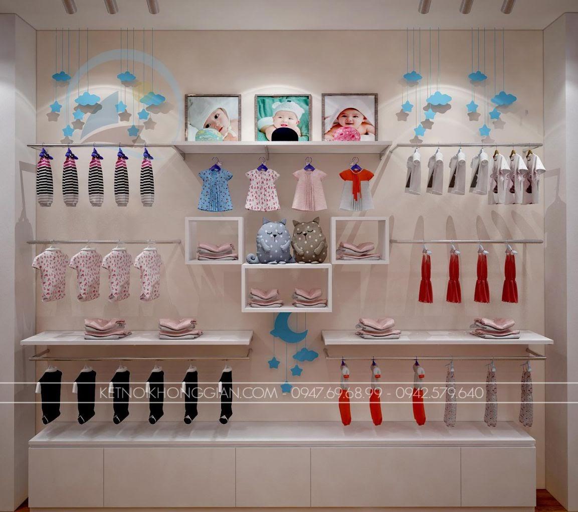 thiết kế shop thời trang trẻ em giá rẻ 17