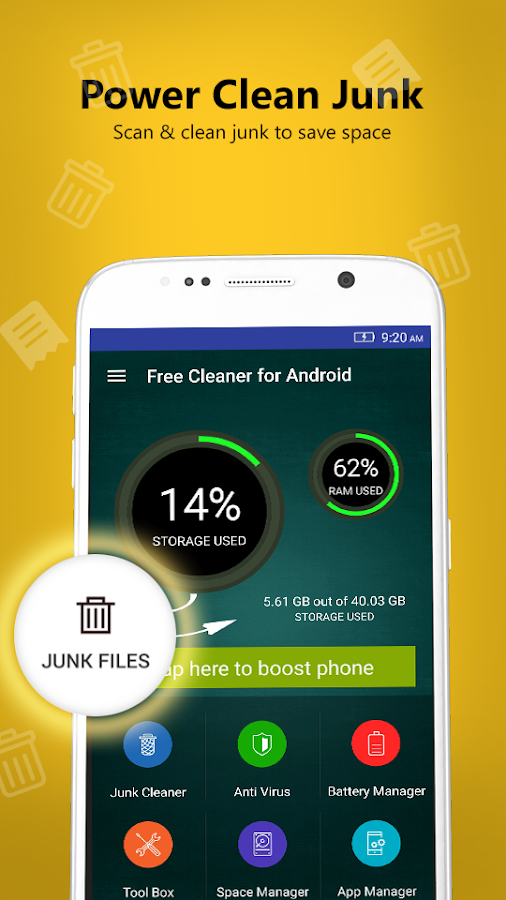 Free Cleaner for Android- screenshot