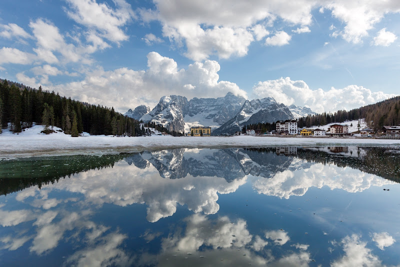 Clouds over Misurina di Nico Angeli Photography