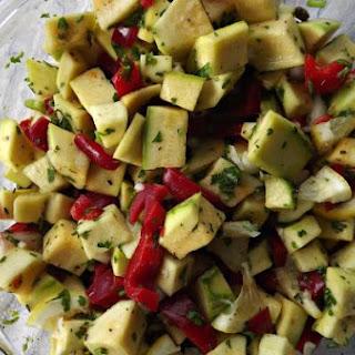 Simple Squash Salad