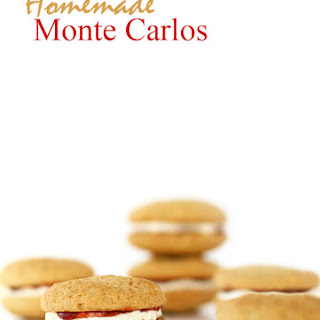 Homemade Monte Carlos.