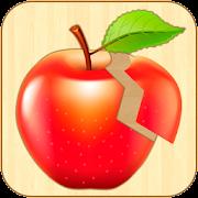 Kids Fruit Puzzles - Wooden Jigsaw