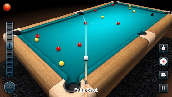 3D Pool Game Screenshot