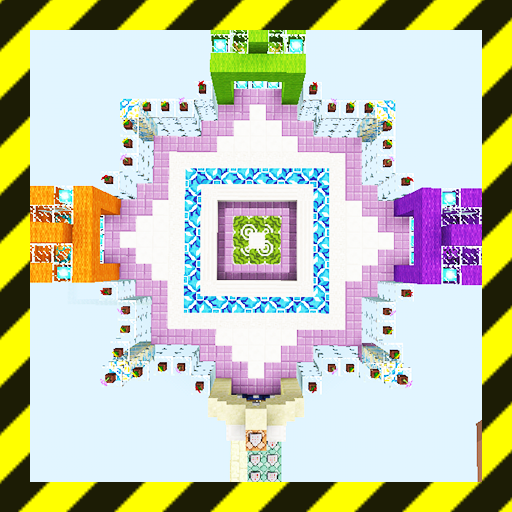 Egg Wars. Map for MCPE