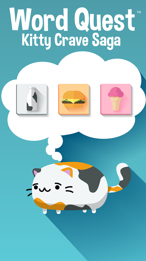 Word Quest Kitty Crave Saga- screenshot