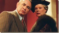 Bob Hoskins and Judi Dench