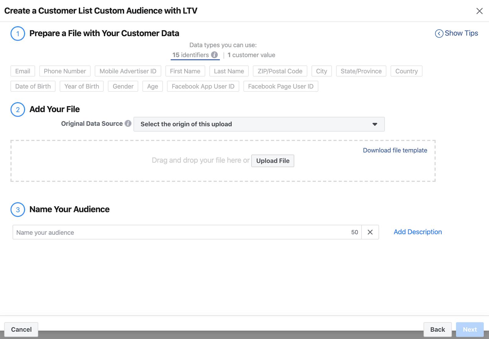 Lookalike audiences by LTV