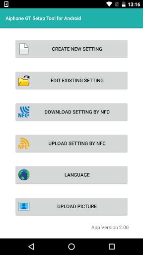Aiphone GT Setup Tool for Android 2.00 Windows u7528 1