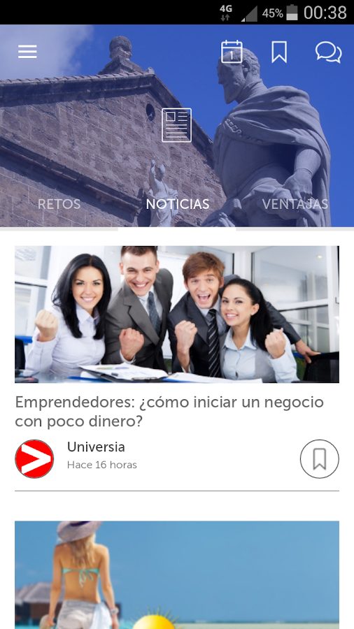 UGR App Universidad de Granada- screenshot