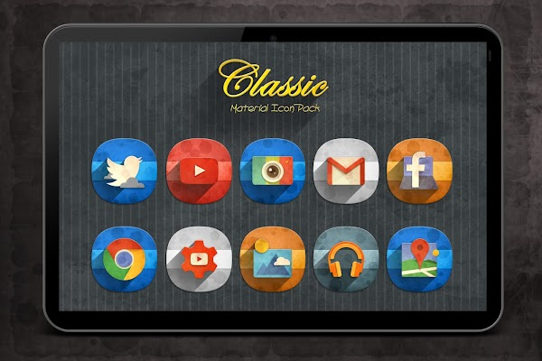 Classic Material Icon Pack v1.4.0