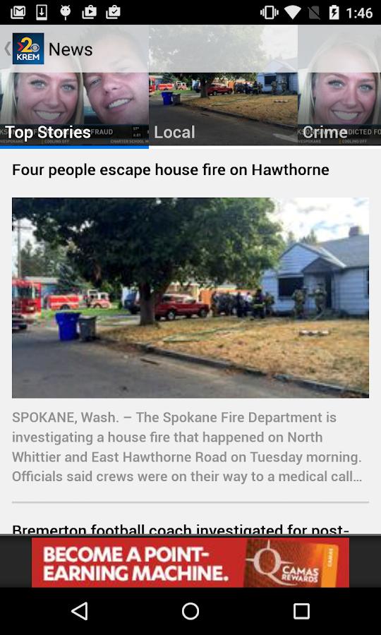 KREM 2 Spokane News- screenshot