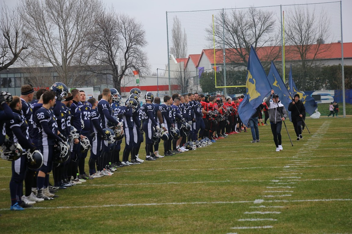 🏈 Első HFL mérkőzésünkön  35-7 arányban diadalmaskodott a Budapest Wolves…