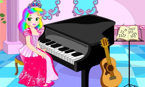 Princess Piano Lesson Game