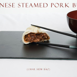 Chinese Steamed Pork Buns.