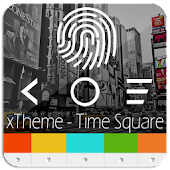 XPERIA™ Theme | Time Square