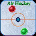 Air hockey arcade game icon