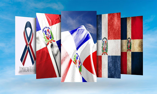 Dominican Republic Flag Wallpaper Screenshot 1 2