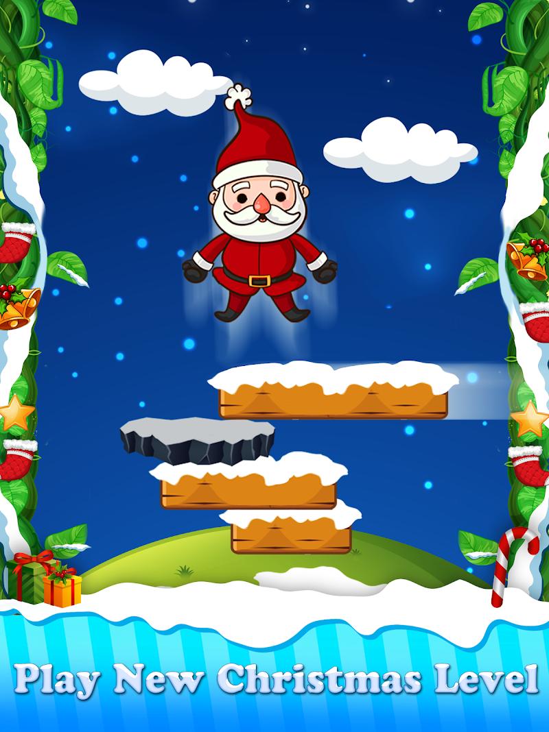 Download Christmas Santa Claus Jump : The Adventure Game Cheat APK MOD