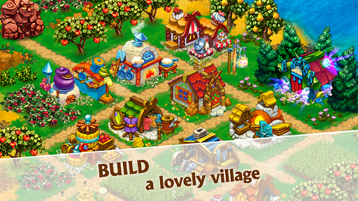 Harvest Land: Farm & City Building apkdebit screenshots 2