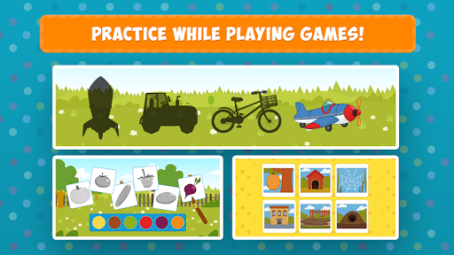 Blue Tractor: Learning Games for Toddlers Age 2, 3 1.0 screenshots 4