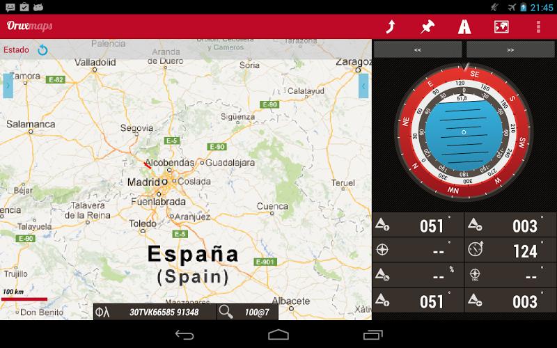 OruxMaps GP Screenshot 8