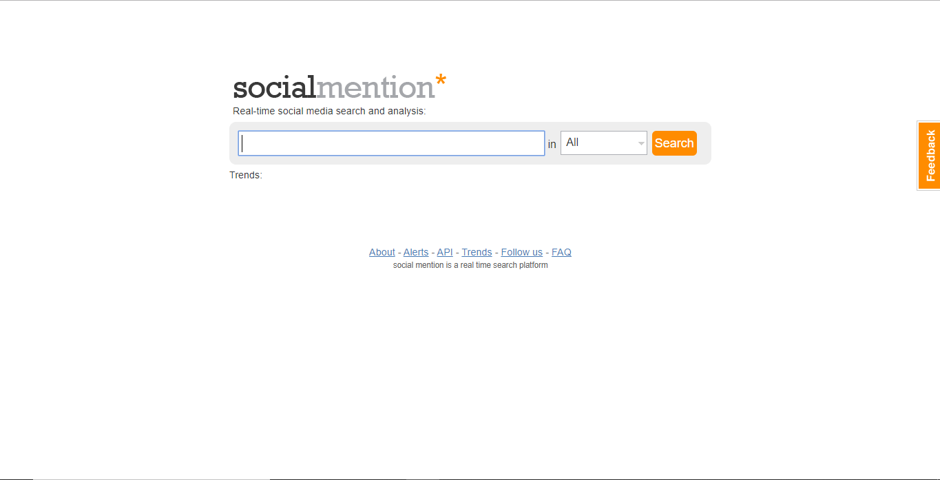 social mention tools
