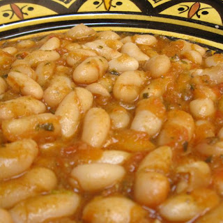 Moroccan Stewed White Beans Recipe