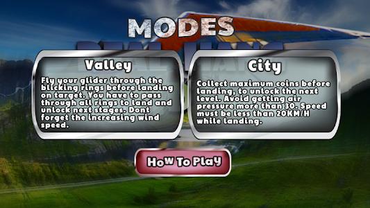 Real Hang Gliding : Free Game screenshot 1