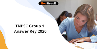 TNPSC Group 1 Answer Key 2020: Check Prelims and Mains Answer Key Here