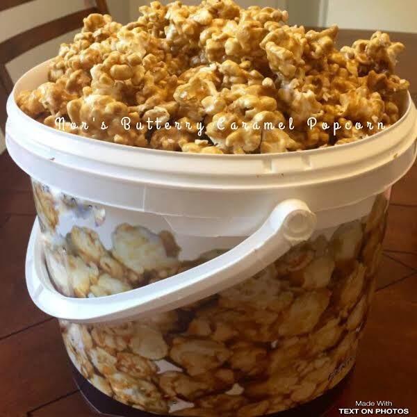 Butter Toffee Pecan Popcorn