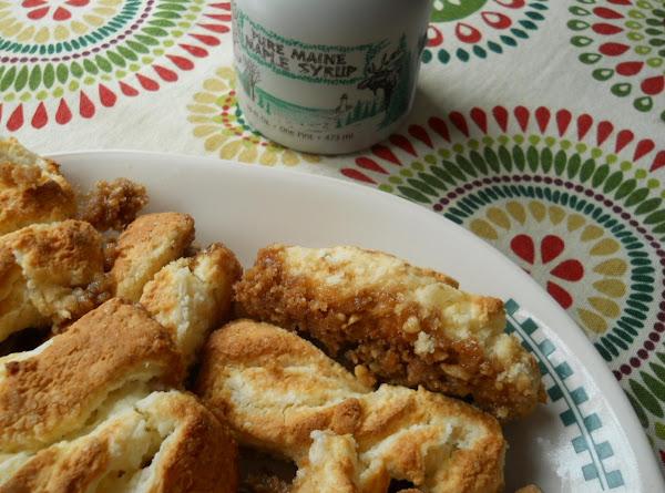 Maine Maple Danish Twists Recipe