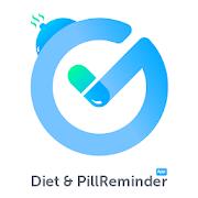 Pill Reminder App : Track Medication, Water & Diet